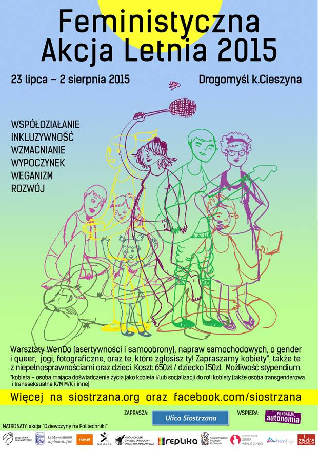 plakat promujący FAL 2015